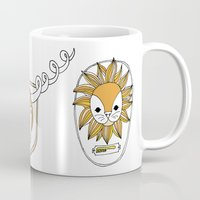 Animals head plaques Mug
