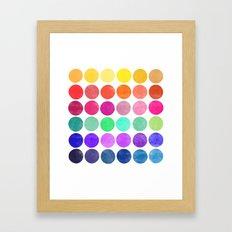 colorplay 6 Framed Art Print