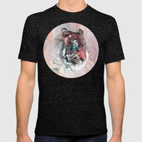 Illusive By Nature Mens Fitted Tee Tri-Black SMALL