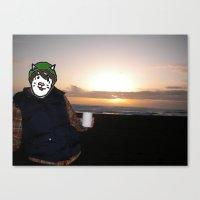 Sister Cat Canvas Print