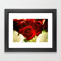 I Punched The Flowers You Gave Me, And Now I'm Sending Them Back Framed Art Print