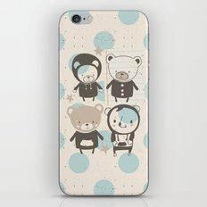Brown Paper Bears iPhone & iPod Skin