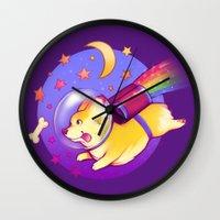 See You Space Corgi Wall Clock
