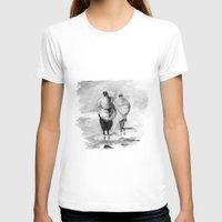 girls T-shirts featuring girls by Cardula