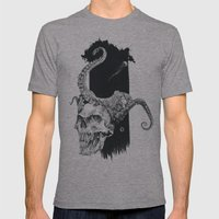 Deep Ocean Mens Fitted Tee Athletic Grey SMALL