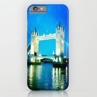 I love Tower Bridge iPhone 6 Slim Case