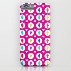 Sweet ice-cream cones iPhone 6s Slim Case
