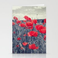 field of love Stationery Cards