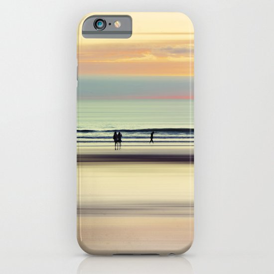 an evening at the beach iPhone & iPod Case