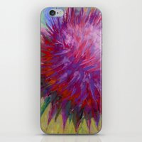 Thistle I iPhone & iPod Skin