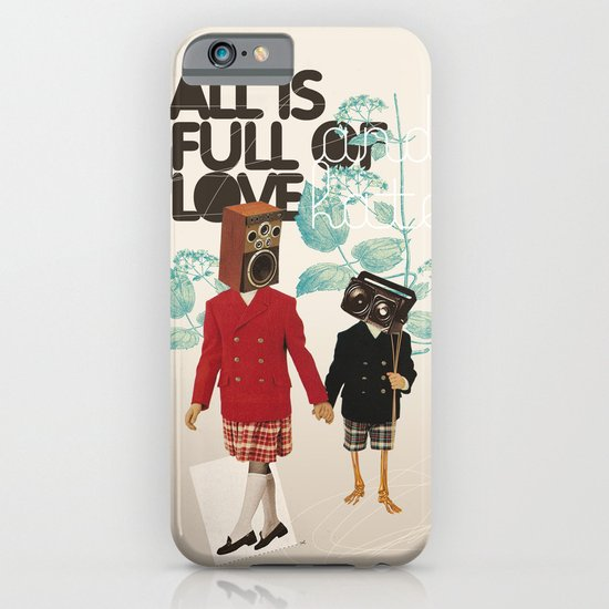 ALL IS FULL OF LOVE iPhone & iPod Case