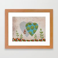 Design 5 Framed Art Print