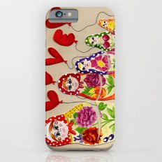 From Russia with Love Russian Dolls Slim Case iPhone 6s