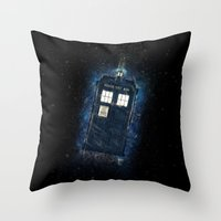 Totally And Radically Dr… Throw Pillow