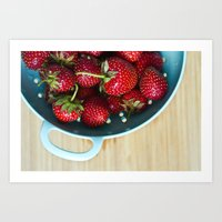Freshest Berries Art Print