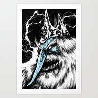 Adventure Time - Ice Kin… Art Print