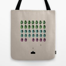 Faceinvaders Tote Bag