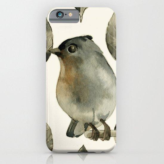 Grey Birdy iPhone & iPod Case