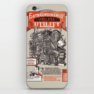 iPhone & iPod Skin featuring Extraordinarily Useless … by Joshua Kemble