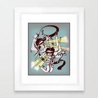 Hiros Framed Art Print