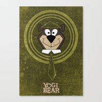 Yogi Time. Canvas Print