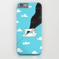 iPhone Cases featuring Sew a better world by ilovedoodle