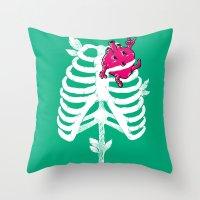 I(HEART)Green! Throw Pillow