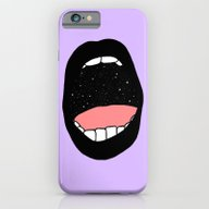 iPhone & iPod Case featuring Star Stuff - Goth by Robin Eisenberg