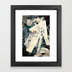 Collide 5 Framed Art Print