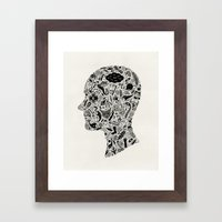 It's All In My Head Framed Art Print