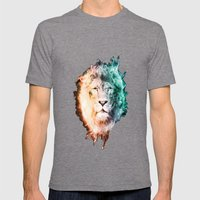 In The Jungle Mens Fitted Tee Tri-Grey SMALL