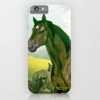 Sound Reason (CAN) - Thoroughbred Stallion iPhone 6 Slim Case