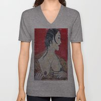 PORTRAIT OF A LADY EXPOS… Unisex V-Neck