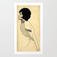 Night 'n' Gale Art Print