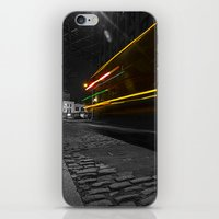 DUMBO Light trail iPhone & iPod Skin