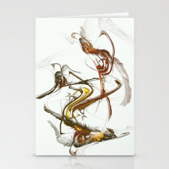 Feathers Stationery Card