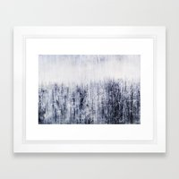 Lines Of Life Framed Art Print