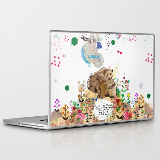 I Would Be Laptop & iPad Skin
