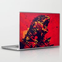 monster Laptop & iPad Skins featuring Monster by Balazs Pakozdi