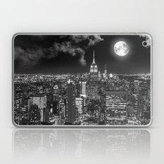 New York Under the Moon Laptop & iPad Skin