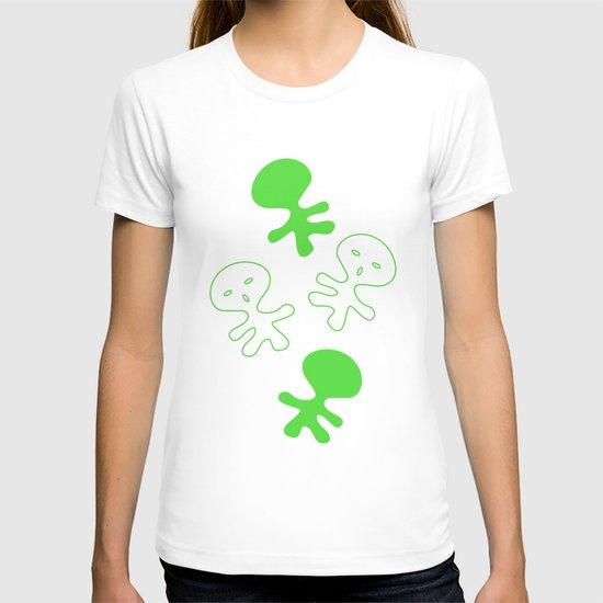 Aliens-Green T-shirt