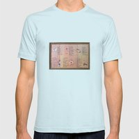 I Am Mens Fitted Tee Light Blue SMALL