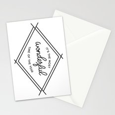 IT'S THE MOST WONDERFUL TIME OF THE YEAR Stationery Cards