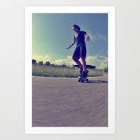 Roller  Art Print