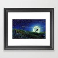Huckleberry Finn Framed Art Print