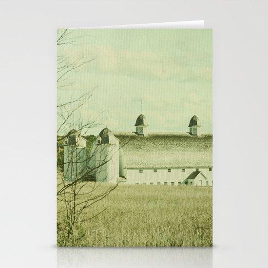 Vintage Rural Stationery Card