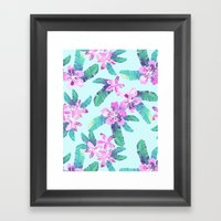 Tahitian Garden {D} Framed Art Print