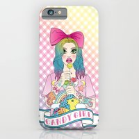 iPhone & iPod Case featuring Candy Girl by Jade Boylan