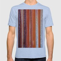 Sunstripes Mens Fitted Tee Athletic Blue SMALL