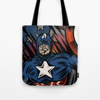 Captaino Americano Tote Bag